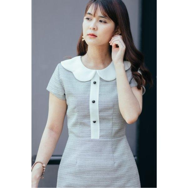 Mira Button Dress