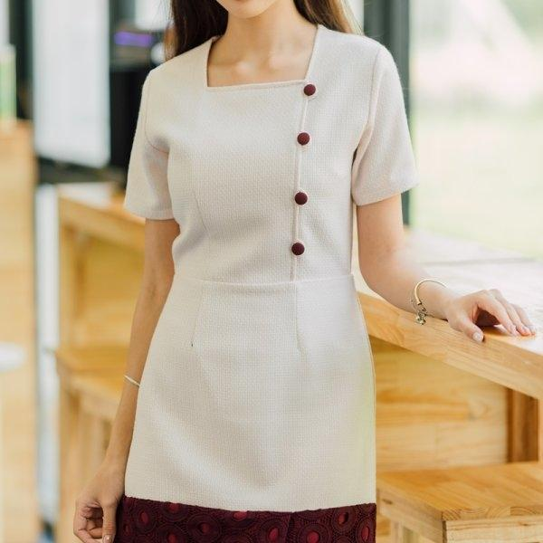 Ginny Tweed Soft Dress