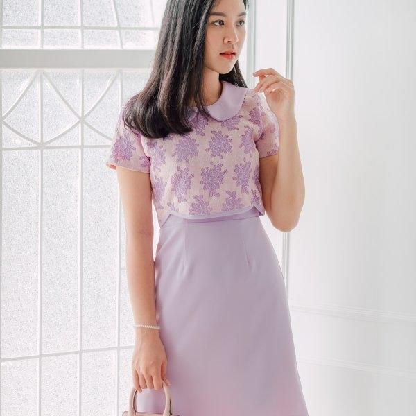 Yara Collar Dress