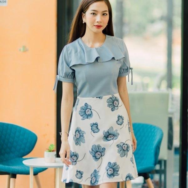 Rina Ribbon Dress