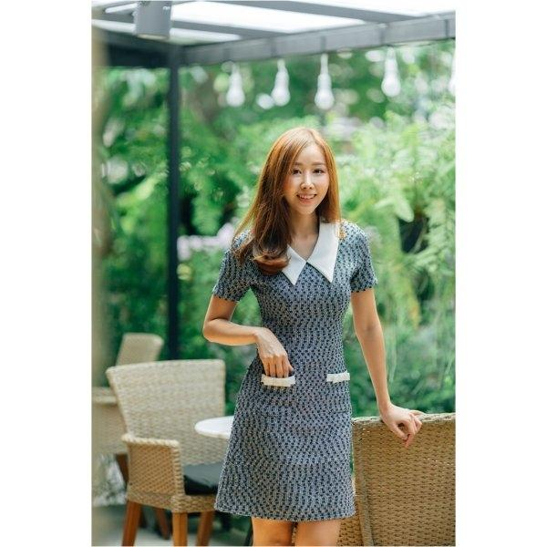 Mina Pocket Bow Dress