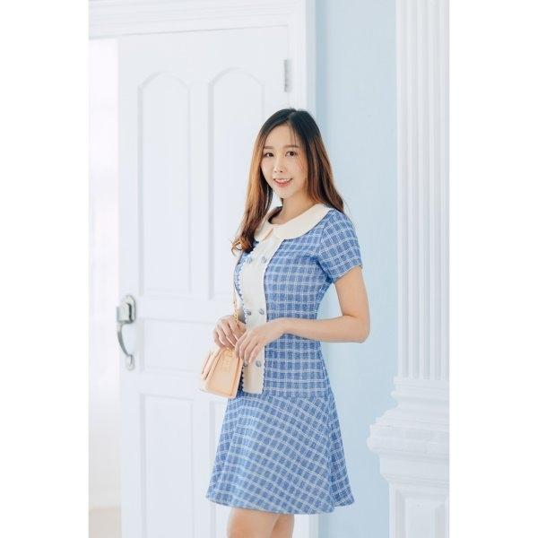 Olivia Button Dress