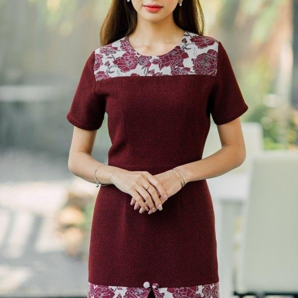 Amy Tweed Red Dress