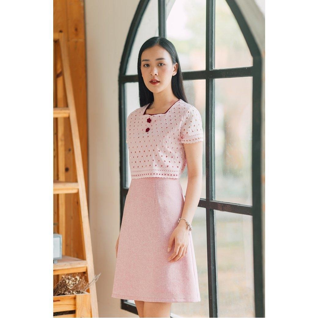 Yara Cotton Lace Dress