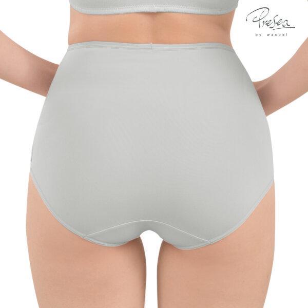 Seamless panties กางเกงในเอวสูงไร้รอยตะเข็บ สีเทาอ่อน MAU901