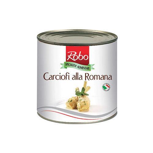 ROBO ARTICHOKE ROMAN STYLE อาติโชกในน้ำมันสไตล์โรมัน 2.4Kg.(10600059)