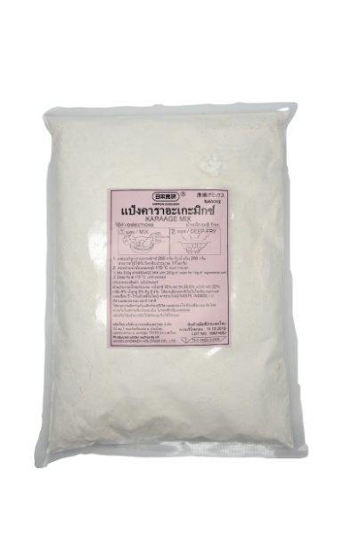NIHON SHOKKEN KARAAGE MIX SPICY นิฮอนโชเคนแป้งไก่ทอดคาราเกะสไตล์ญี่ปุ่น Spicy 1 KG 日本食研から揚げ粉(10601412)