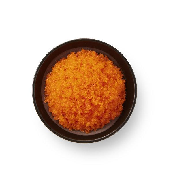 CAPELIN ROE (EBIKO) ORANGE (Frozen) ไข่กุ้ง えびこ 500G. (10400532)