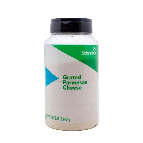 SCH GRATED PARMESAN CHEESE (SHAKER) เนยแข็งพาร์มีซาน ชนิดผง 454G.*12 (10500136)
