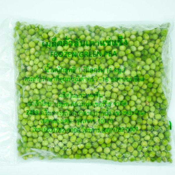 FROZEN GREEN PEAS ถั่วลันเตา แช่แข็ง 1Kg. (10200024)
