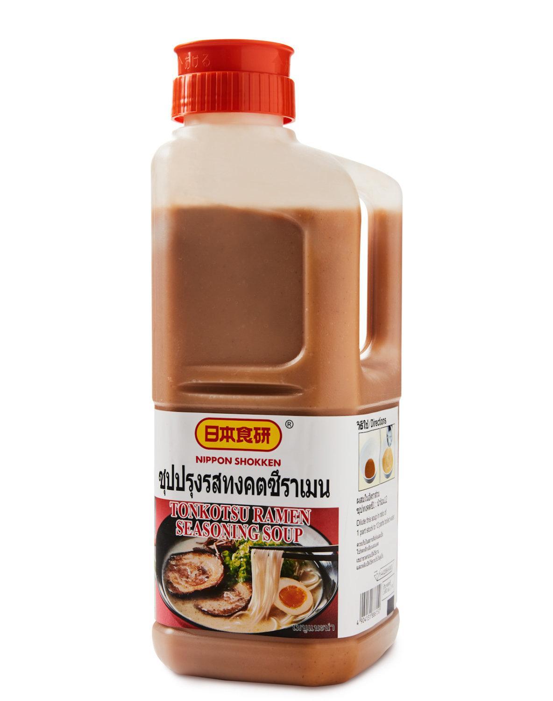 NIHON SHOKKEN TONKOTSU RAMEN SEASONING SOUP นิฮอนโชเคน ซุปทงคตซึ 2กก.(ซุปกระดูกหมู) 日本食研豚骨ラーメンシーズニングスープ(10601409)