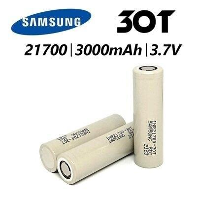 Samsung 30T 21700 3000mAh 3.7 Battery