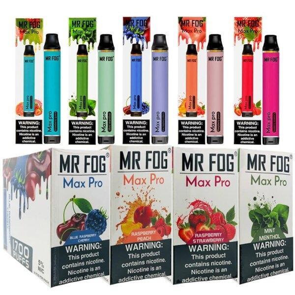 Mr Fog Max Disposable Pod