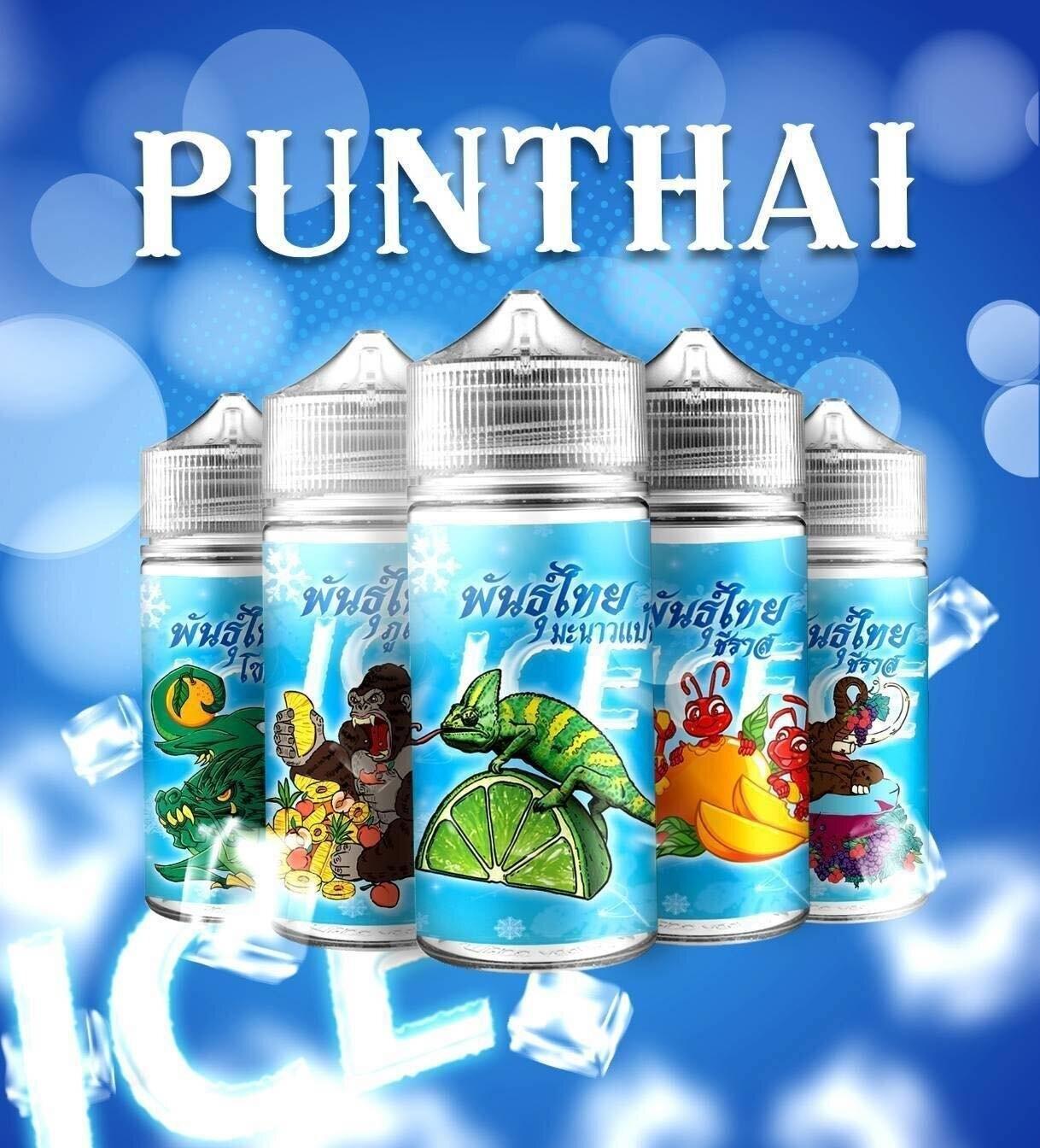 Punthai freebase ICE 100ml Nic 6