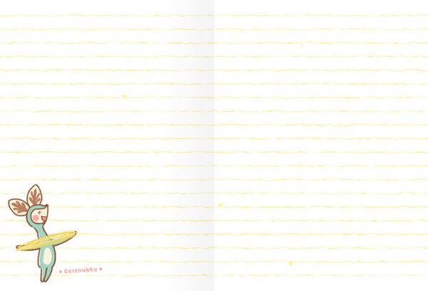 สวีทซัมเมอร์ : สมุดแพลนเนอร์รายเดือนแบบลงวันที่เอง : ขนาด A6 : ลาย เดอะลองเน็คแก๊งค์ : SP1705