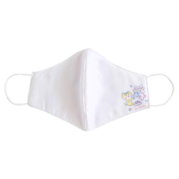 สวีทซัมเมอร์ : หน้ากากอนามัย : ผ้าไมโคร : ลาย ลิตเติ้ลเอมิโกะ (สีขาว)