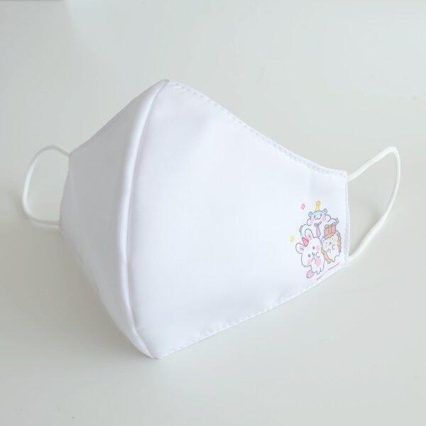 สวีทซัมเมอร์ : หน้ากากผ้าไมโคร : ลาย ลิตเติ้ล เอมิโกะ (สีขาว) : FM2101