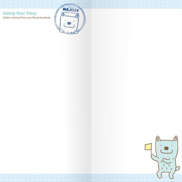 สวีทซัมเมอร์  : สมุดบันทึกการท่องเที่ยว : ลาย Majory : Check In : TJ1703