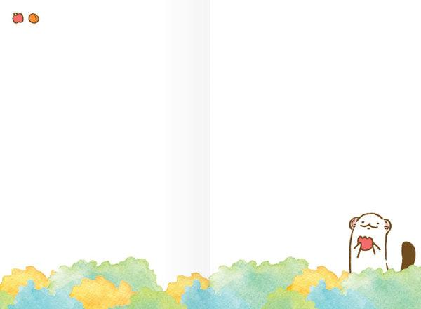 สวีทซัมเมอร์ : สมุดแพลนเนอร์รายเดือนแบบลงวันที่เอง : ขนาด B7 : ลาย มินนะ โคโค่ : SP1715