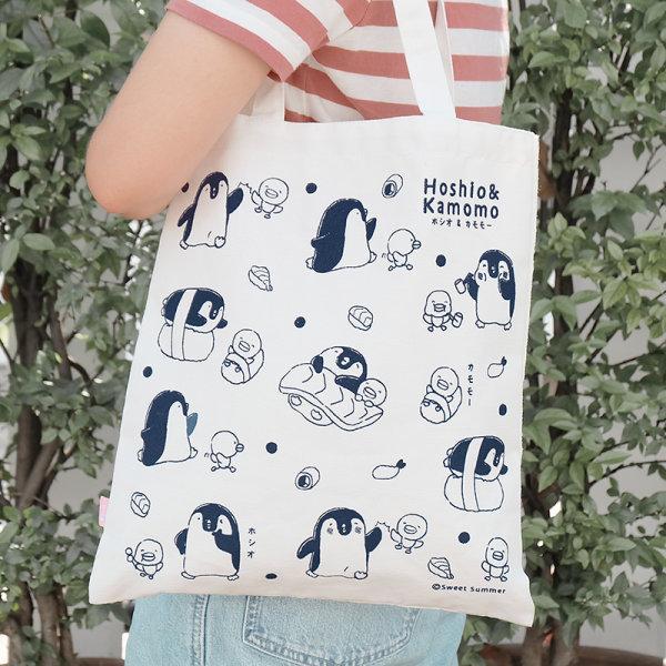 สวีทซัมเมอร์  : กระเป๋าผ้าแคนวาส  : ลาย Hoshio Sushi : TB1802