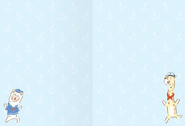 สวีทซัมเมอร์ : สมุดแพลนเนอร์รายเดือนแบบลงวันที่เอง : ขนาด A6 : ลาย เดอะลองเน็คแก๊งค์ : SP1801