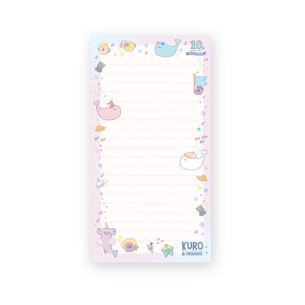 สวีทซัมเมอร์ : กระดาษก้อน : ลาย คุโร่แอนด์เฟรน : NP2120-3