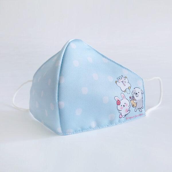 สวีทซัมเมอร์ : หน้ากากผ้าไมโคร : ลาย ลิตเติ้ลเอมิโกะ สีฟ้า : FM2111