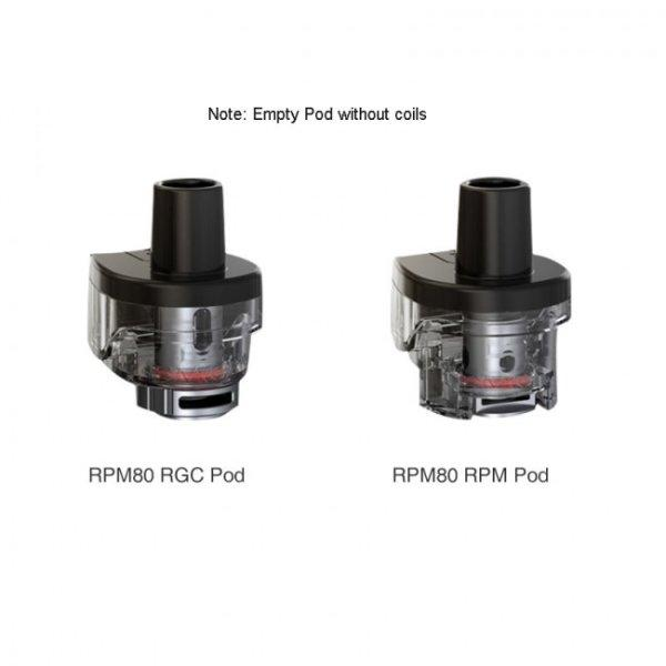 Import - SMOK RPM80 Replacement Empty Pod
