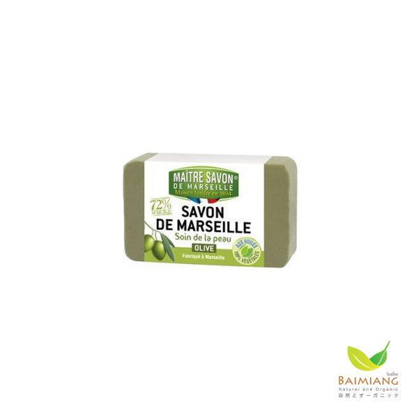 MAITRE SAVON DE MARSEILLE SOIN DE LA PEAU OLIVE ขนาด 200 g.
