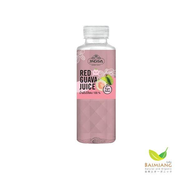 [2 แถม 1] JINDAVA Fresh Pink Guava Juice ขนาด 250 มล.