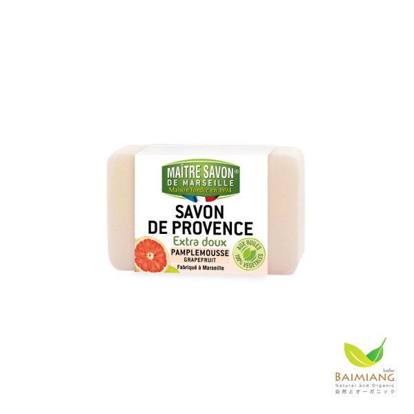 MAITRE SAVON DE PROVENCE EXTRA DOUX PAMPLEMOUSSE GRAPEFRUIT ขนาด 100 g.
