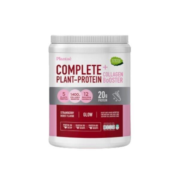 Plantae เครื่องดื่มโปรตีน สตรอว์เบอร์รีบูส 800 g. บูสผิวจากภายใน สร้างกล้ามเนื้อ (41556)