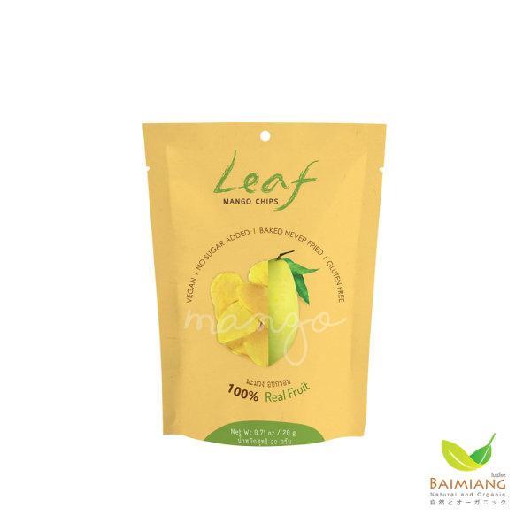Leaf มะม่วงอบกรอบ 100 % ขนาด 20 กรัม