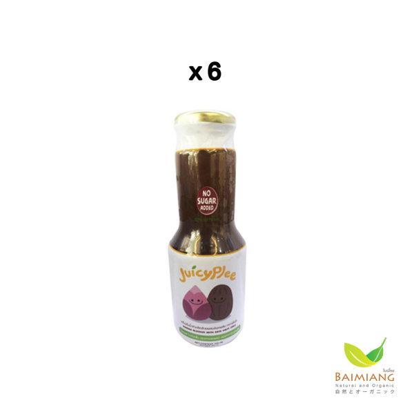 [แพ็ค6]Juicyplee น้ำหัวปลีผสมอินทผลัมพร้อมดื่ม ธรรมชาติ 100% ขนาด 300 มล.