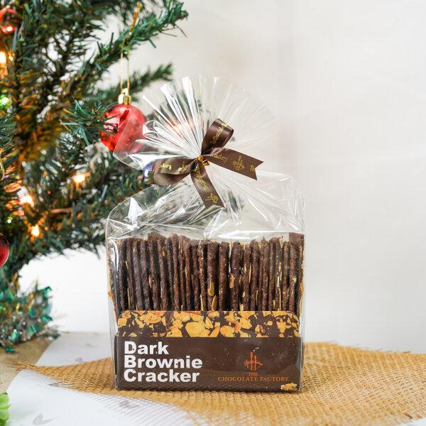 The Chocolate Factory Dark Brownie Cracker 160 g.