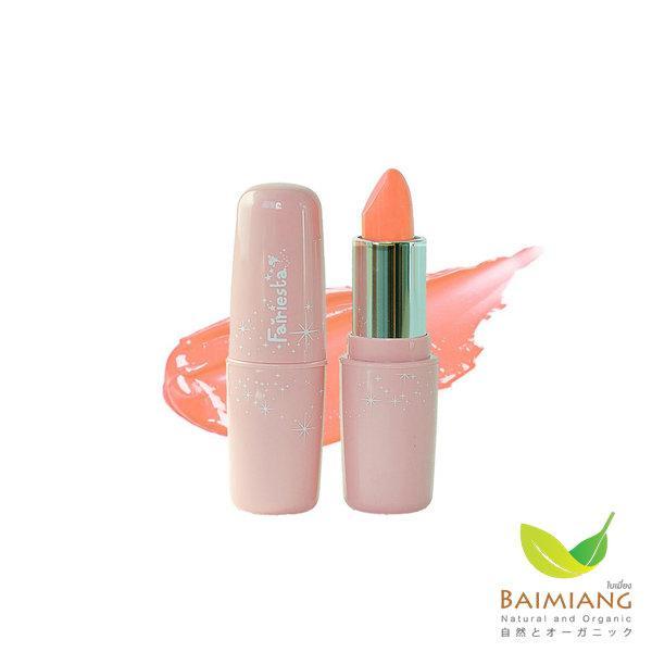 Fairiesta Creamy Orange Baby Lip Color ลิปสติกเด็ก เบอร์ 06 สีส้มนม ขนาด 3.9 กรัม