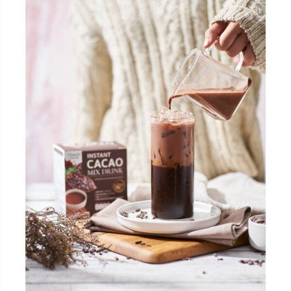 Organic Seeds : INSTANT CACAO MIX DRINK 7 sachets x 20g (41405)