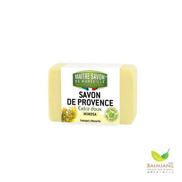 MAITRE SAVON DE PROVENCE EXTRA DOUX MIMOSA ขนาด 100 g.