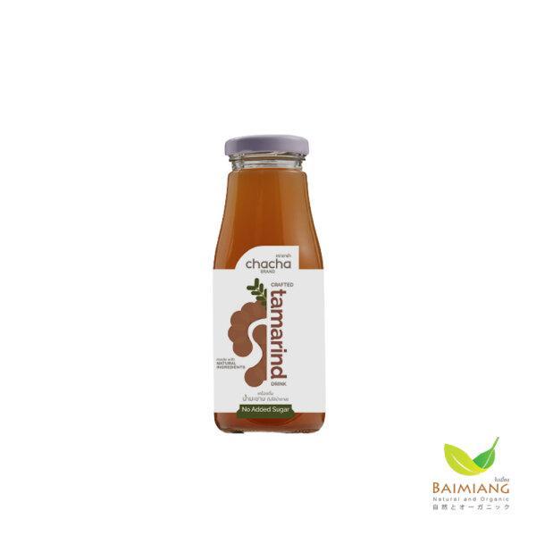 CHACHA น้ำมะขามเข้มข้นสูตร ไม่มีน้ำตาล ขนาด 250 มล.