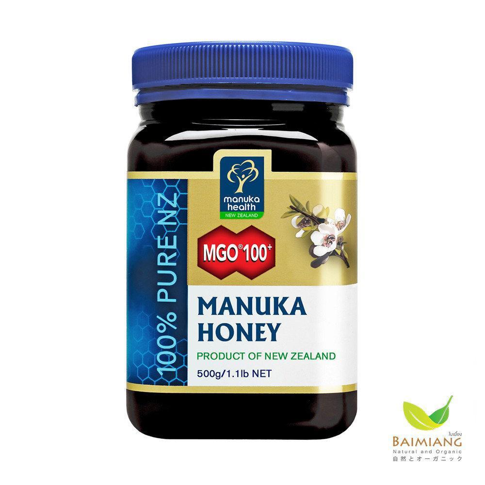 Manuka Health น้ำผึ้ง Manuka Honey MGO 100+ ขนาด 500 กรัม