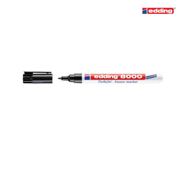 edding 8000 ปากกาเขียนบรรจุภัณฑ์แช่แข็ง