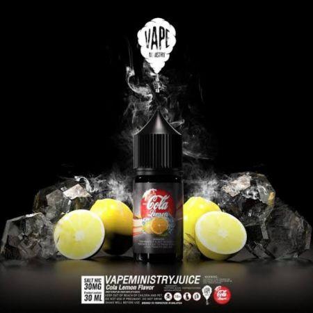 Enjoy Cola lemon salt