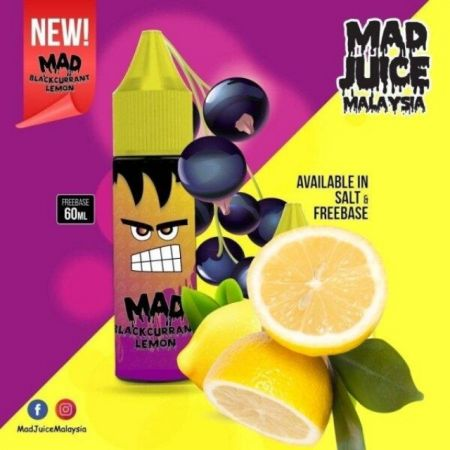 Mad​ Black​currant lemon​ freebase​