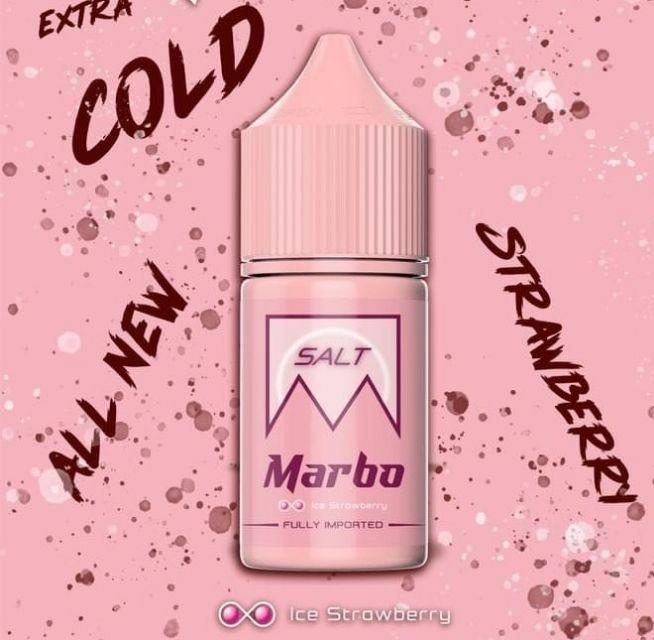 Marbo Strawberry salt