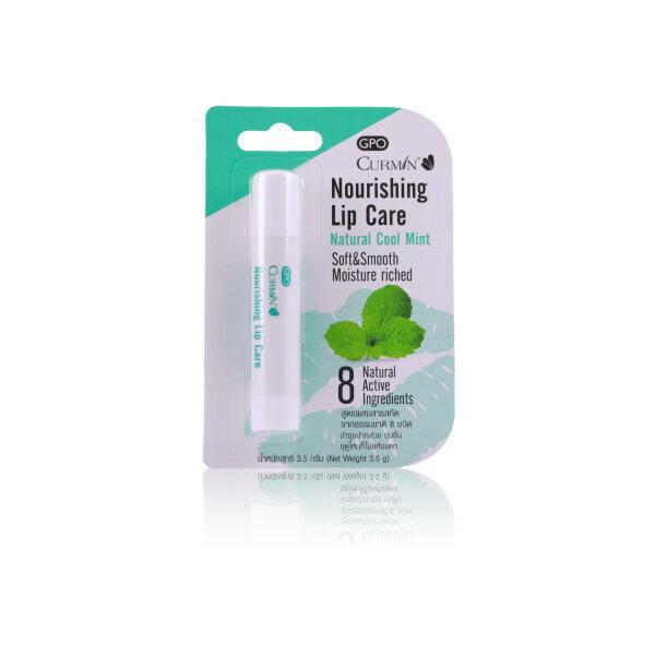 CURMIN Nourishing Lip Care - Natural Cool Mint