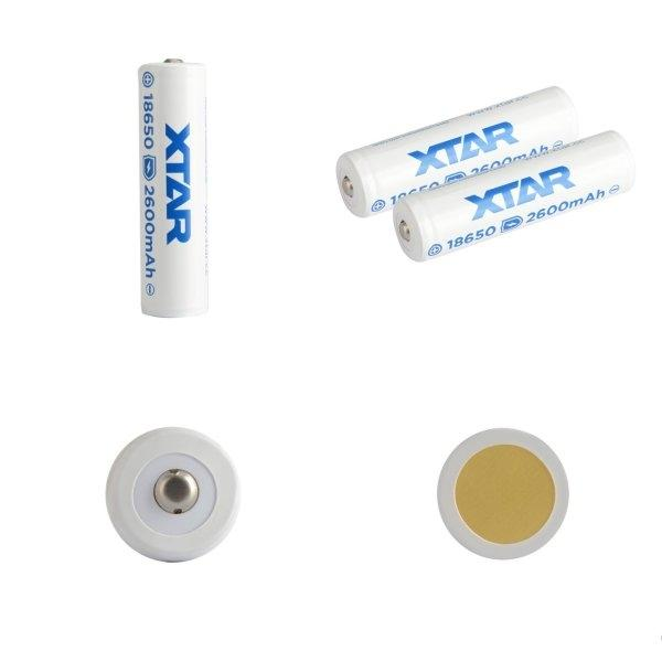 XTAR 18650 2600mAh 3.7V li-ion Battery x 1 ก้อน