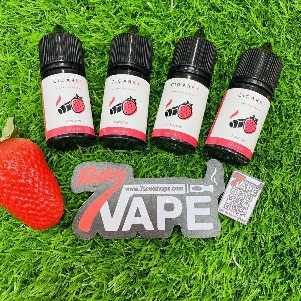 ซิการ์สตอเบอรี่ | Cigarry Strawberry Salt Nic 30ml