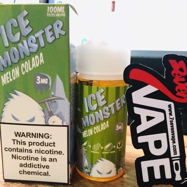 ไอซ์มอนสเตอร์เมล่อนโคลาดา | Ice Monster Melon Colada by Jam Monster 100ml