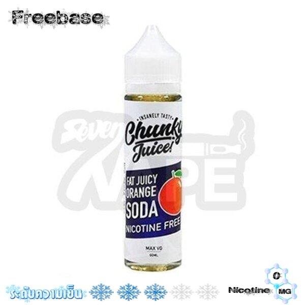 Chunky Juice Orange Soda 60ml