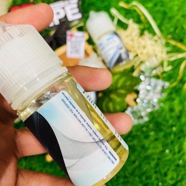 เมเวียสไอซ์บลูเบอรี่ซอลนิค | Mevius Ice Option Blueberry Salt Nic 30ml